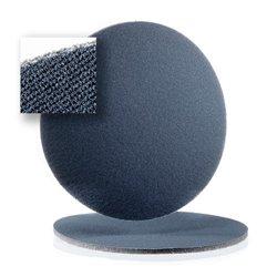 Schleifscheiben klett 80mm Schaumkaschiert ungelocht - K360