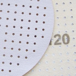 Fiber-Schleifscheiben 125x22 mm krezgeschlitzt Keramikkorn - K36