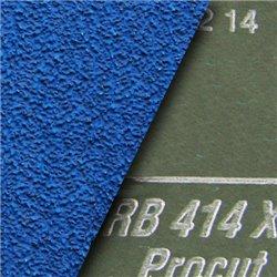 Fiber-Schleifscheiben 115x22 mm krezgeschlitzt Zirkonkorund - K120