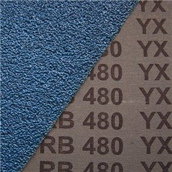 Fächerschleifscheiben 125x22,23 mm angewinkelte Form 80 m/s - K40