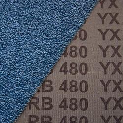 Fächerschleifscheiben 125x22,23 mm angewinkelte Form 80 m/s - K80