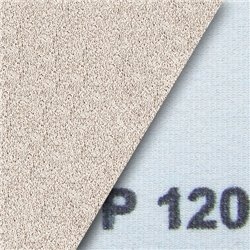 Schleifstreifen klett 93x178 mm gelocht mit 2 x 4 Seitlöchern - K150